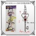 Anime Sailor Moon Chibi Usa Logo Llavero de Metal Colgante Llavero Llavero Para Las Mujeres KT877
