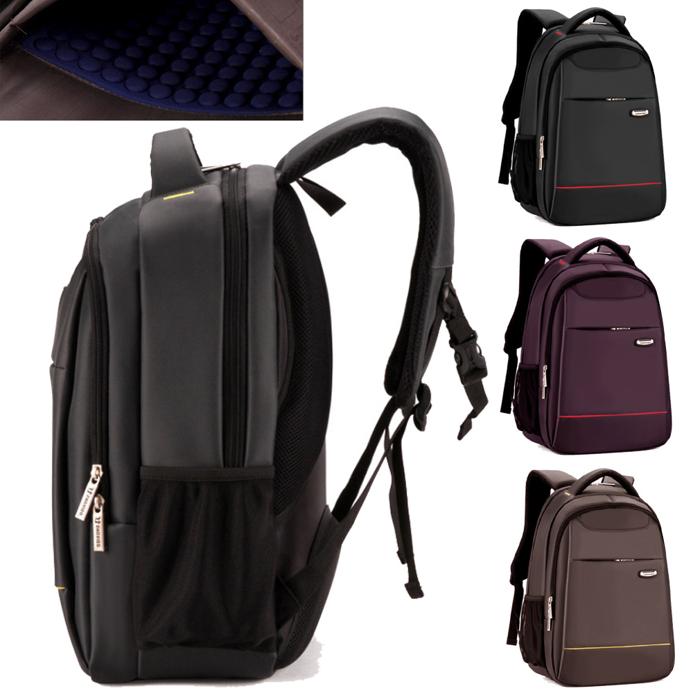 Best Quality 15 15.6 Inch Shockproof  Waterproof Nylon Laptop Notebook Backpack Bags Case Backpack for Business Men Women