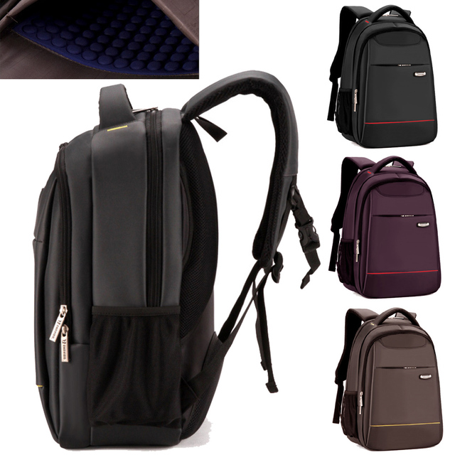 Best Quality 15 6 Inch Shockproof Waterproof Nylon Laptop Notebook Backpack Bags Case For Business