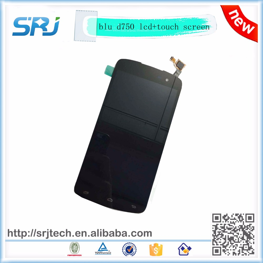 5 inch Blu Studio X 5.0 D750 D750U D750L LCD Display With Touch Screen Digitizer Glass Sensor Assembly Replacement Parts Panel