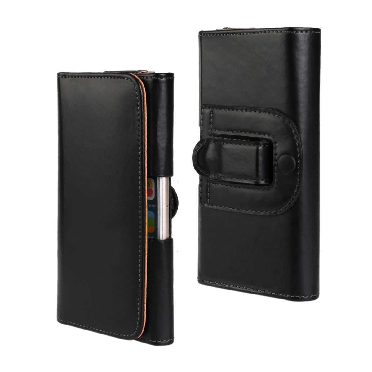 الهاتف حالة مع حزام كليب أفقي الحافظة حقيبة الخصر الحقيبة العمودي جلدية غطاء كوكه ل نيكزس 5x أومي روما X infocus M560