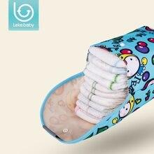 lekebaby Baby Diaper Bags Maternity Bag Waterproof Wet Cloth Diaper Backpack Reusable