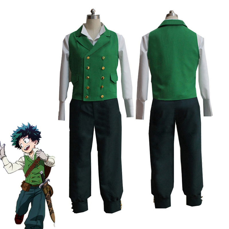 My Anime Hero Academia Izuku Midoriya Deku Halloween Cosplay Costumes