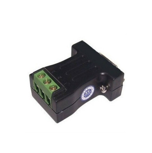 Hight quality mini RS-232 to RS-485 passive interface converter 485 converter DB9 to 3-wire terminal  adapter 1.2km rs 232 to rs 485 adapter interface converter