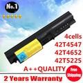 Venta al por mayor nuevos 4 celdas de la batería del ordenador portátil para R61 ThinkPad R400 T400 T61 serie 41U3196 41U3198 42T4547 42T4652 42T5225 envío gratis