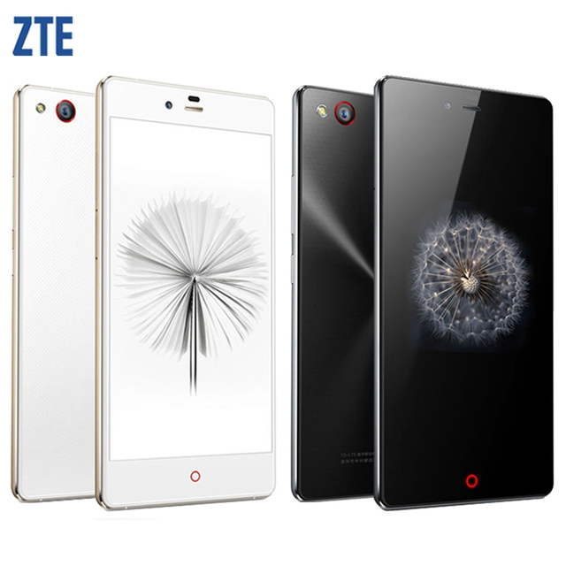 """Original ZTE Nubia Z9 Mini 4G FDD LTE Cell Phones Snapdragon 615 Octa-Core 5.0"""" 1920x1080 2GB RAM 16GB Android 5.0 16.0MP Camera"""