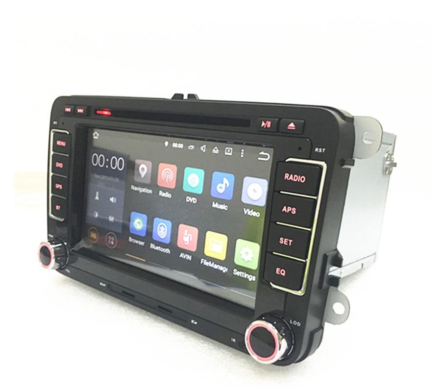 2din RNS 510 Radio android for VW PASSAT B6 Polo Sharan TIGUAN TOURAN CADDY  GOLF 5 Mk6 T5 SEAT for Skoda DAB DVD 3G 4G bluetooth