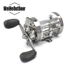 Fishing Drum Reels CL-60 Bait Casting Saltwater Bait casting Reel Full Metal Carp Drum Wheel Ball Bearing Gear Ratio 4.2:1 Pesca
