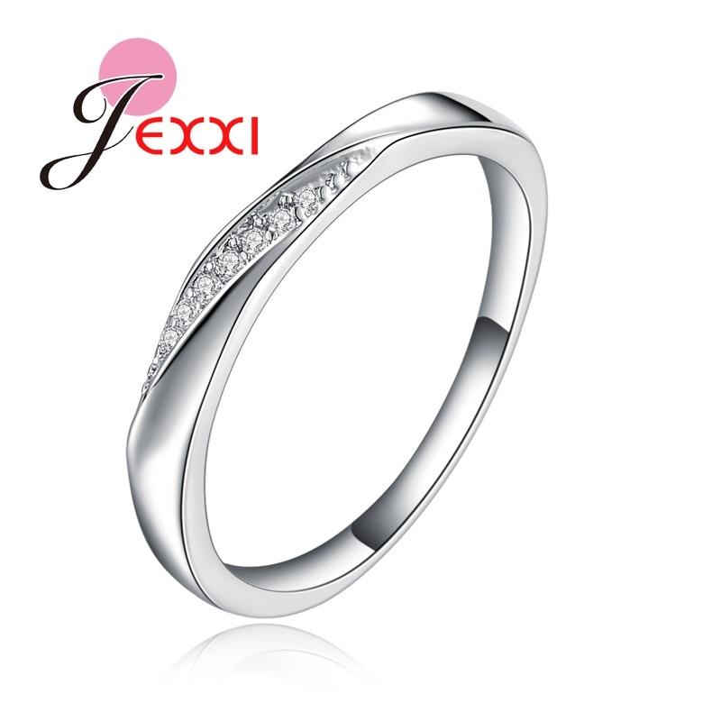 JEXXI Extreme Simple Design Plain Wedding Band For Husband