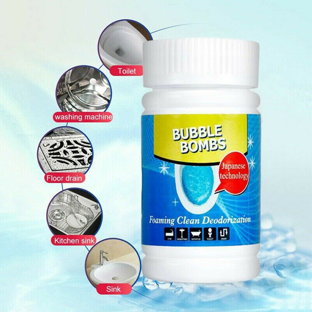 Analytical 1pc 100g Fast Foam Bubble Bombs Toilet Vleaner Sink Tank Foam Stain Disinfection Cleaning Powder Magic Foam To Eliminate Odor #5 Structural Disabilities