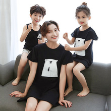 Family Matching Clothes Mother Kids Pajamas Mother