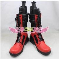 Marvel Comics Deadpool Dead pool Marvel Wade Wilson Legends cos Cosplay Shoes Boots shoe boot #JZ380 anime Halloween Christmas