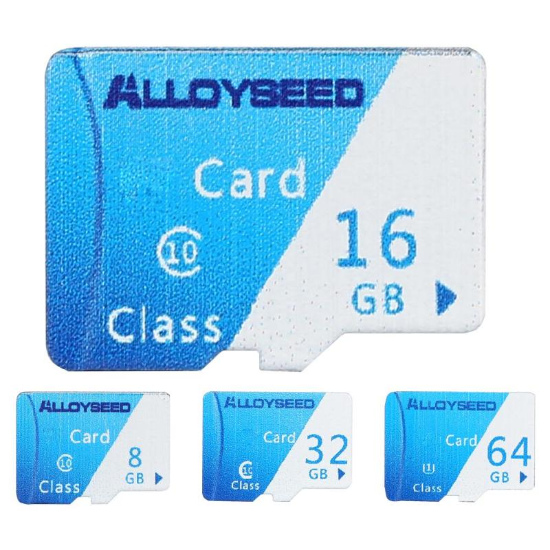 ALLOYSEED 8G/16G/32GB/60GB TF/Micro SDCard 20MB/s Max Reading Speed TF Card Micro Secure Digital Memory Card for Laptop Desktop