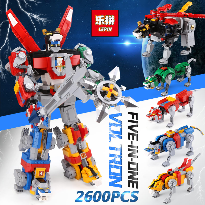 IN STOCK LEPIN 16057 2600pcs idea serise Voltron Defender Of The Universe Compatible 21311 Building Blocks Bricks DIY Toys Gifts цена и фото