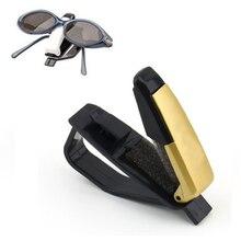 Car Vehicle Accessory Sun Visor Sunglasses Eye Glasses Card Pen Holder Clip