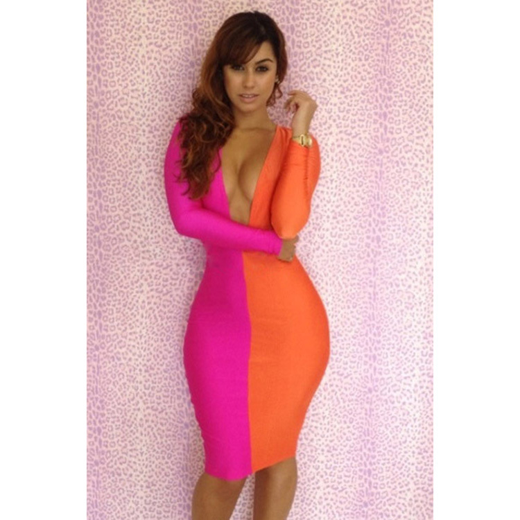 Popular Orange Club Dresses-Buy Cheap Orange Club Dresses lots ...