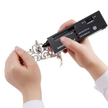 1pc Diamond Tester II Jewelry Tool Diamond Detector Electronic Diamond Selector Gemstone Gems Tester II