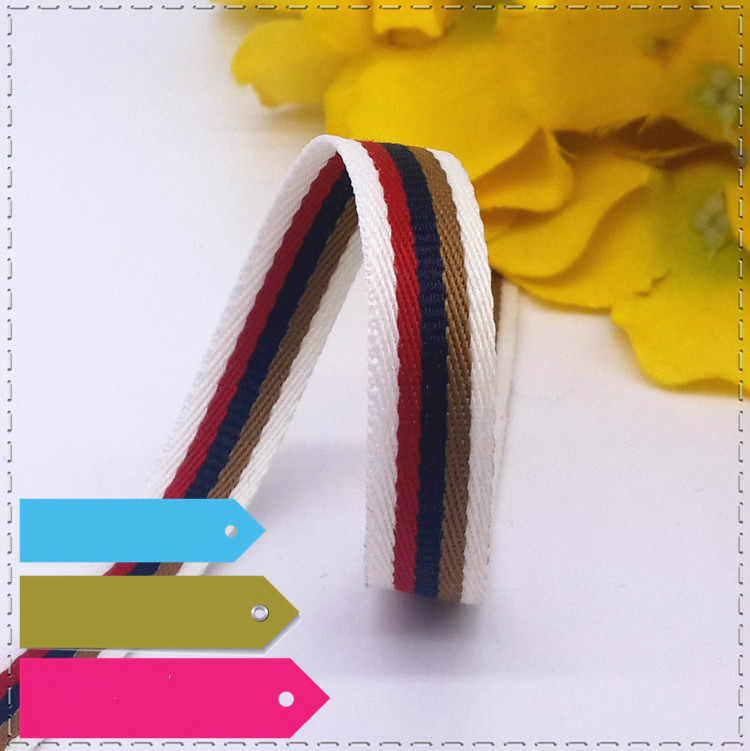 New 1CM Spell Color Geometry Stripe Lace Sewing Dress Ribbon Belt DIY Hair Accessories Decoration Supplementary Material 1 meter