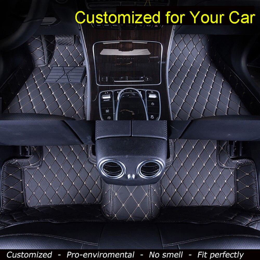 Voiture Tapis De Sol pour Mercedes Benz B200/180 CLA260 CLS A/C/E/R/S série G63 G500 GL450 GLK350 ML350 Auto Tapis Pied tapis