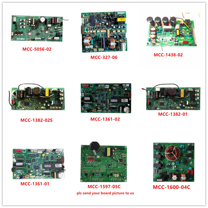 MCC-5056-02  MCC-327-06  MCC-1438-02  MCC-1382-02S  MCC-1361-02  MCC-1382-01  MCC-1361-01  MCC-1597-05C  MCC-1600-04C Used Work