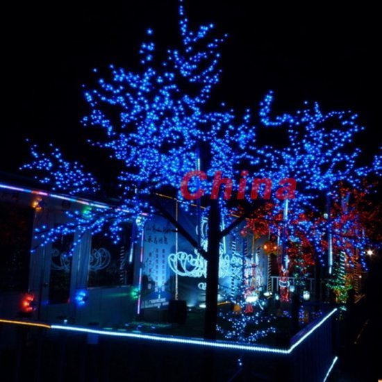 free shipping 60 led solar string christmas lights gardens outdoor parties blue outdoor christmas