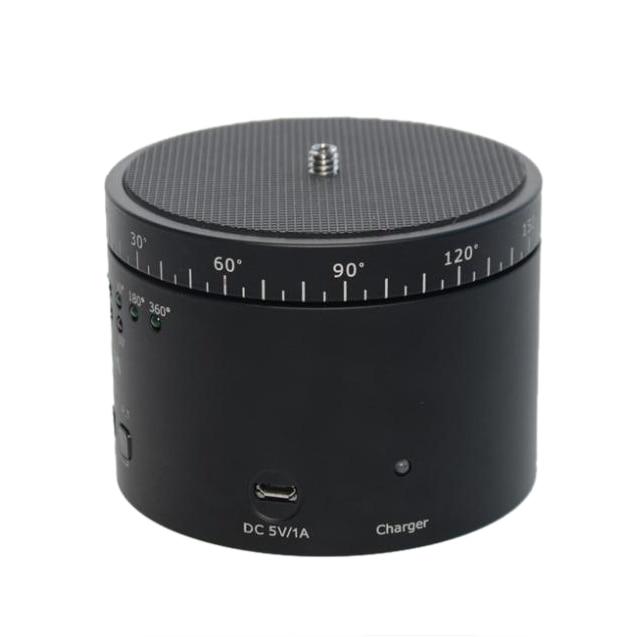 Sevenoak SLR cameras 360 degree electric automatic Rotate cradle head