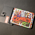 New Comics Dc Marvel Slim Wallet the Avengers Hulk Iron Man Captain America  Purse Logo Credit Oyster License Card Wallet