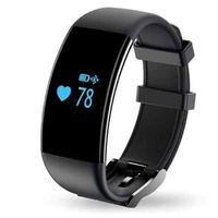 D21 Heart Rate Monitor Smart Bracelet Swimming Alarm Clock Step Counter Call Message