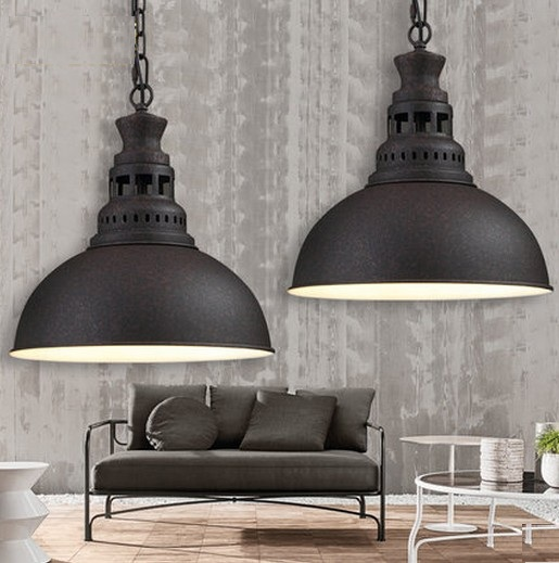 Loft Style Iron Art Droplight Edison Pendant Light Fixtures For Dining Room Bar Hanging Lamp Vintage Industrial Lighting simple bar restaurant droplight loft retro pendant lamp industrial wind vintage iron hanging lamps for dining room