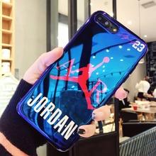 New Jordan Blu-ray Phone Case iPhone 6 6S plus 7 7plus 8 8plus X 10
