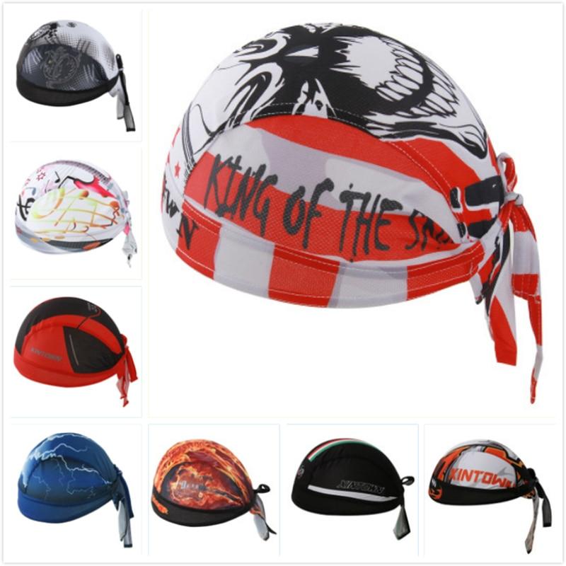 Outdoor Sport Men MTB Bike Bicycle Cycling Cap Bandana Pirate Hat Breathable  Sweat Helmet Hat Skull Head Scarf Headband Ciclismo 03195b525be7