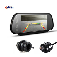 7 Inch In Car Monitor Rear View Mirror LCD Screen For Double To Switch Upgrade Section