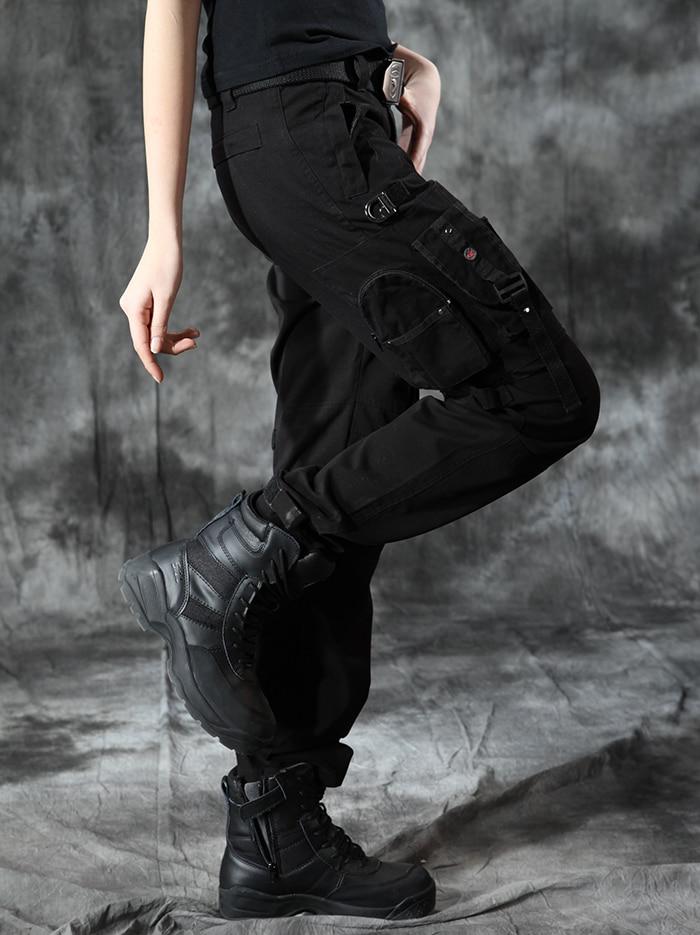 Black Cargo Pants For Women