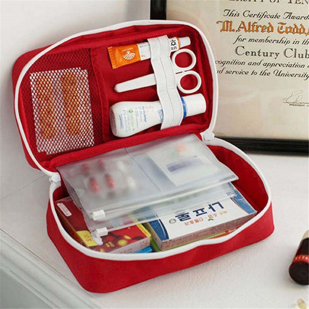 Portable Camping First Aid Kit Emergency Medical Bag Storage Case Waterproof Car kits bag Outdoor Travel Survival kit Empty bag 3