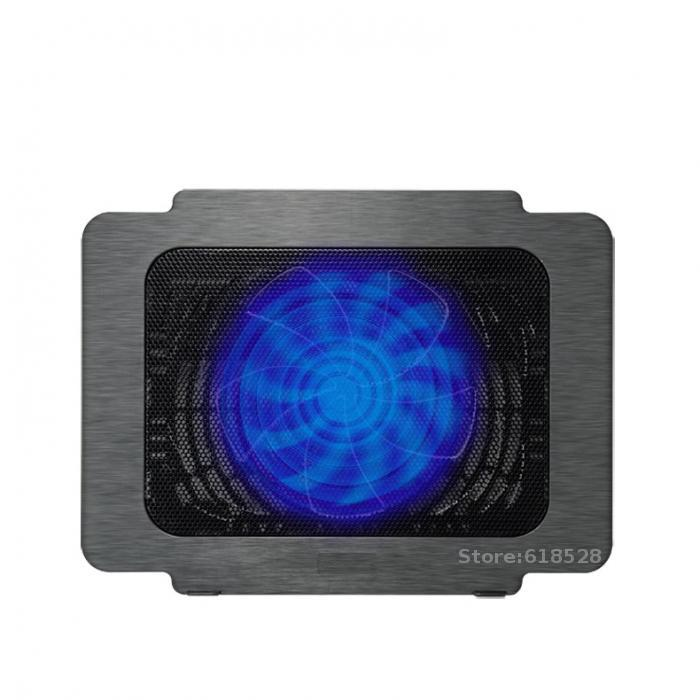 CoolCold Brand USB Super Ultra Thin Laptop Cooling Pad Notebook Radiator Fan Notebook Cooling Pad Laptop Cooler Pad 2