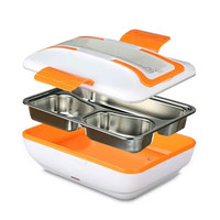 Car Electrical Heating Lunch Box Picnic Lunch Box 220V 45W Portable Car Lunch Box For RV