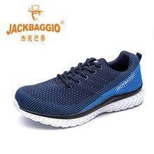 Горячая бренд Мужская рабочая обувь, дышащая легкая спортивная обувь, нескользящая повседневная обувь. Размеры 36-45,3 цвет.