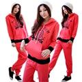 MamaLove тепловой Материнства Одежда устанавливает зимний Уход Грудное Вскармливание Одежда для Беременных Пижамы Материнства Пижамы