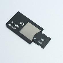 Original!!! M2 memory card 1GB 2GB 4GB 8GB Memory Stick Micro with Adapter MS PRO DUO