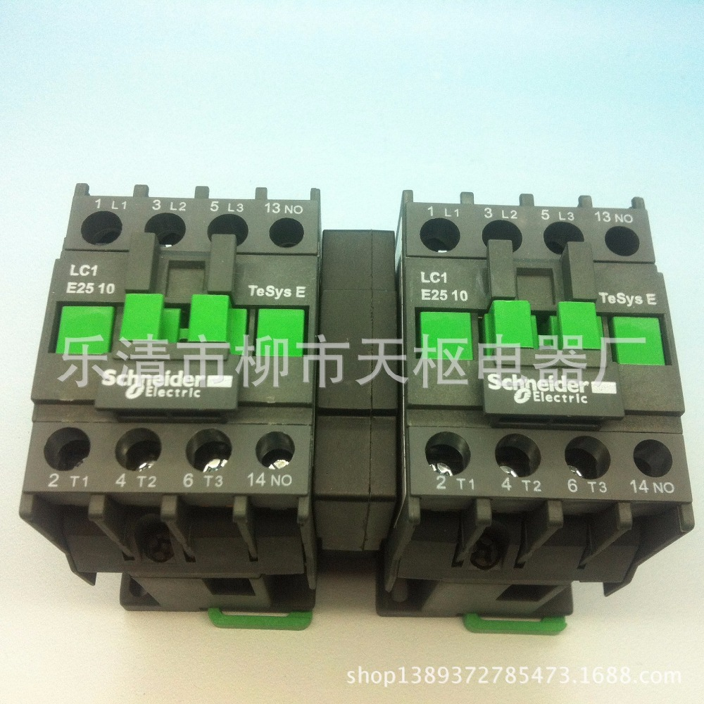 hight resolution of the new schneider ac contactor lc1 e25 10