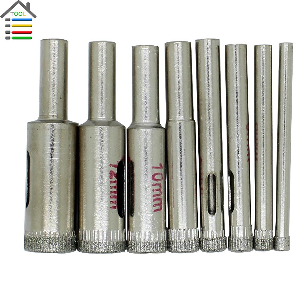 Porcelain 4 13mm 8pc diamond ceramic tile drill bits hole saw guide porcelain 4 13mm 8pc diamond ceramic tile drill bits hole saw guide jig fixture vacuum suction base with water coolant hole in drill bits from tools on dailygadgetfo Images
