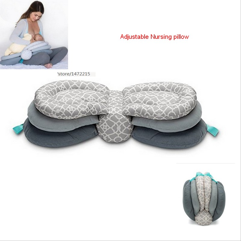 ФОТО New Desgn JJOVCE Infant Adjustable Nursing Pillow help Mom to hold baby, easy clean baby nursing pillow free shipping
