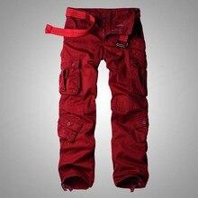 Большой размер мешковатые брюки карго для мужчин и женщин весна зима широкие брюки мужские s брюки для бега военные камуфляжная одежда