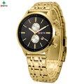 Festina Homens Relógio de Negócios de Luxo Da Marca Assistir 30 M À Prova D' Água Relojes Hombre Masculino Moda Relógio de Quartzo de Aço Inoxidável Relógio de Pulso