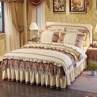 Роскошный комплект постельного белья для принцессы, Комплект постельного белья, флисовый теплый пододеяльник, покрывало для кровати, покры