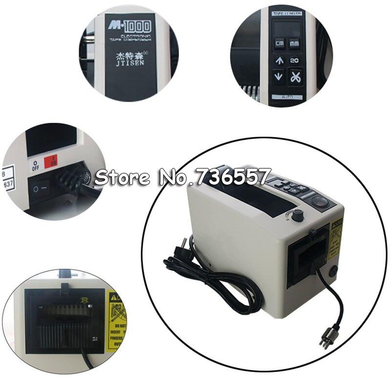 Distributore automatico del nastro M-1000 versione 220 V macchina di taglio del Nastro del Nastro Adesivo di Taglio Dispenser M1000 dispenser nastro
