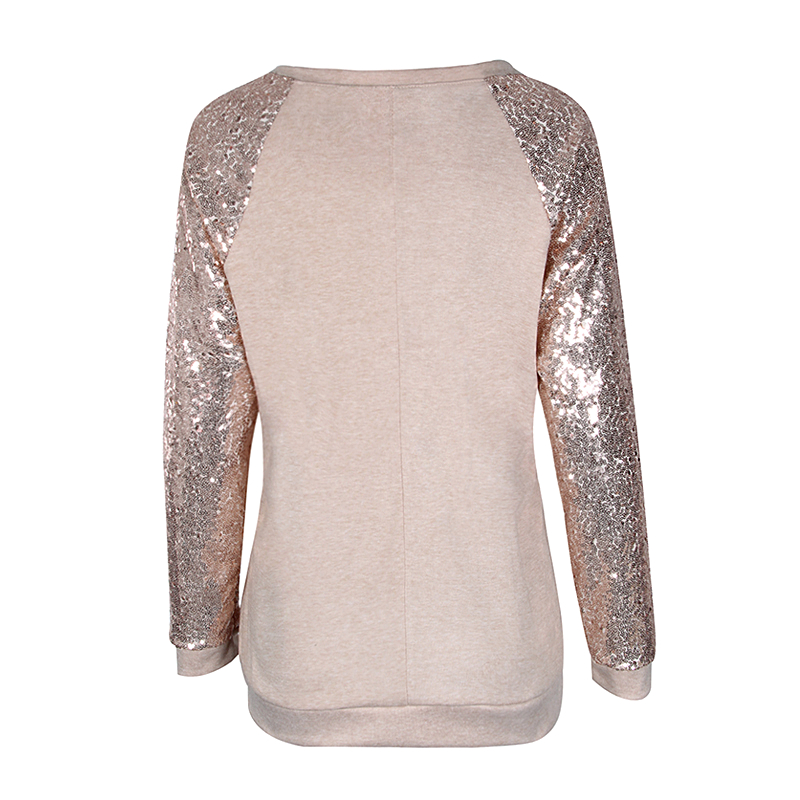 Sequin Long Sleeve T-Shirt 2