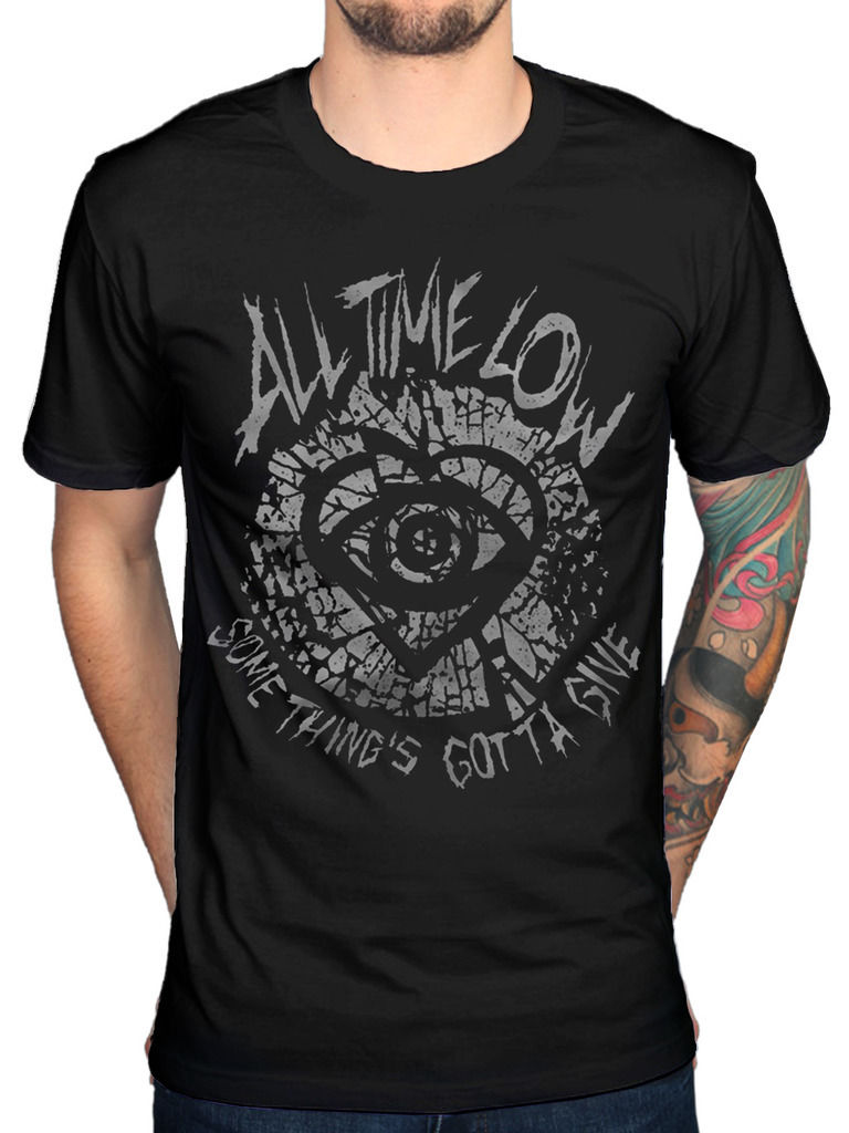 All Time Low Shatter T-Shirt Unisex ATL Graffiti Band Album Music Merch New 2018 Fashion Hot image