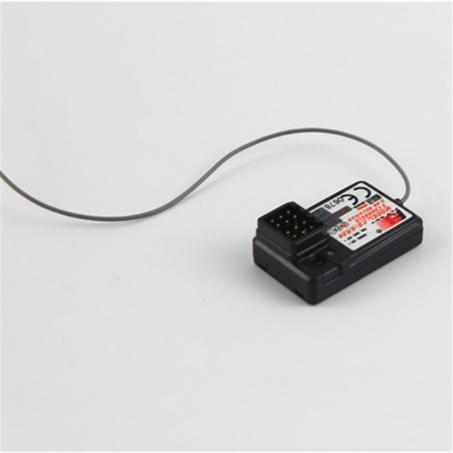 New 1Pcs Black FS-GR3C 3CH 2.4G GT3B GT2 Controller Receiver for Toy Rc Car Boat Free Shipping