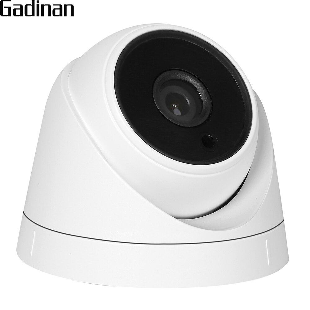 GADINAN HD 720 p 1080 p Grande Angular Lente de 2.8mm Opcional IR Leds Night Vision 1.0MP 1.3MP 2.0MP Segurança CCTV Interior Câmera Dome AHD